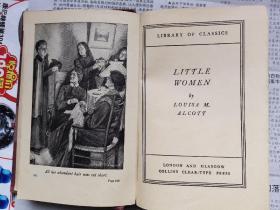 1888年英文版《小妇人》精装本