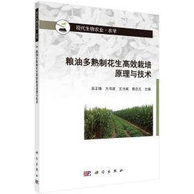 粮油多熟制花生高效栽培原理与技术