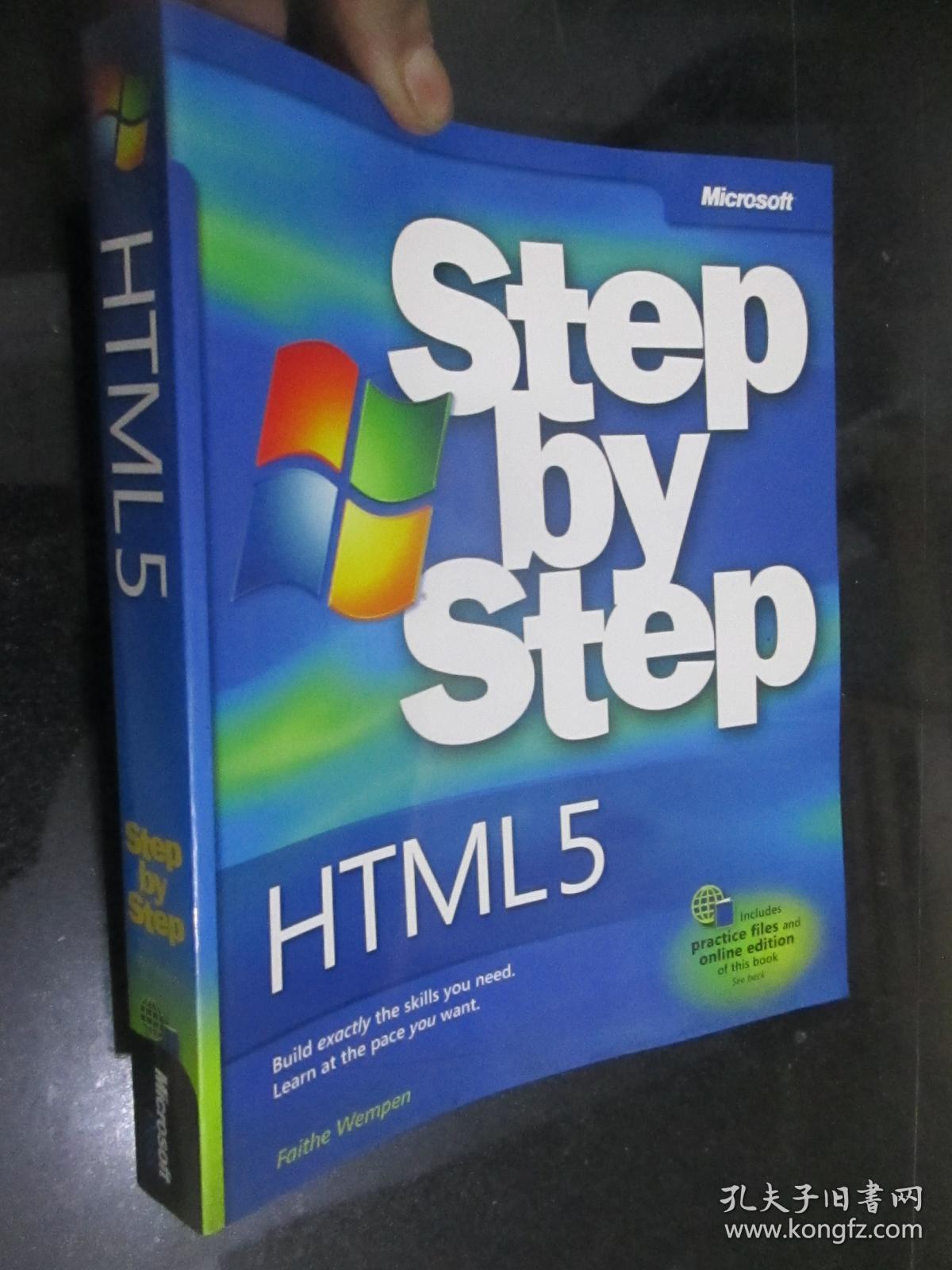HTML5 Step by Step (Step by Step (Microsoft)        16开