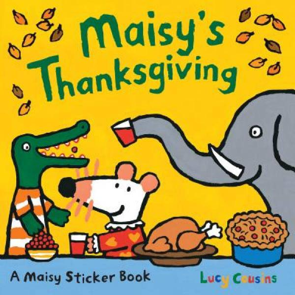Maisy's Thanksgiving Sticker Book [With Stickers]12册合合售
