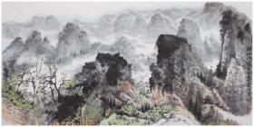 【终身保真字画】徐家钰,四尺整张 男,1951年生,毕业于广州美术学院中国画系。现为中国美术家协会会员,广西书画院院士,桂林画院秘书长,国家高级美术师。
