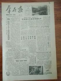 生日报群众报1986年3月19日(8开四版) 石柱县大力扶持烤烟生产; 家庭承包是党的长期政策;