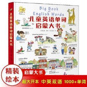 全新正版正版包邮 儿童英语单词启蒙大书 9787203110705