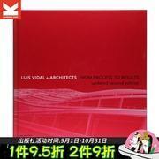 进口原版 LVA建筑事务所作品集 Luis Vidal + Architects