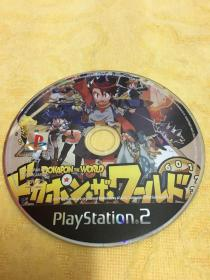 PS2游戏 多卡邦世界 Dokapon the world 游戏光盘