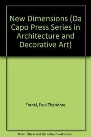 New Dimensions (Da Capo Press Series in Architecture and Decorative Art)