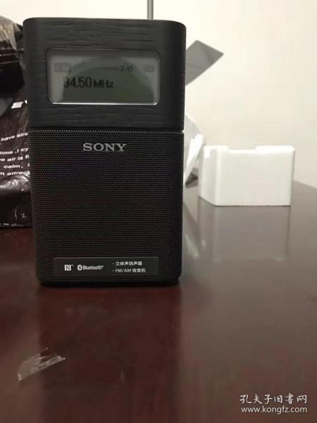 ??索尼(SONY)SRF-V1BT 蓝牙音响FM/AM收音机(黑色)