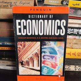 The Penguin Dictionary of Economics(英文原版)