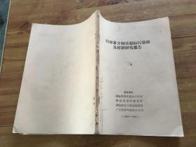 红碎茶含铜量超标污染源及控制研究报告(货号a106)