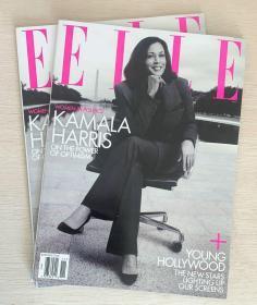 美国版 ELLE 2020年11月 女士时尚服饰潮流服装英文杂志