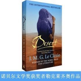 现货英文原版沙漠的女儿Desert J.M.G Le Clazio勒克莱齐奥诺贝尔文学奖获奖作者小说
