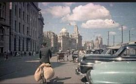 1949年的上海老照片9张5吋的hw