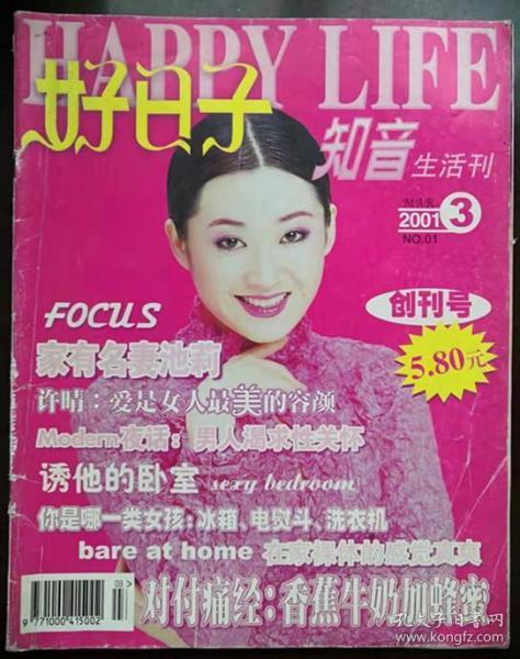 湖北刊物:《好日子》创刊号(2001ND16K)