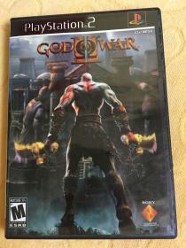 PS2游戏 战神2 游戏光盘