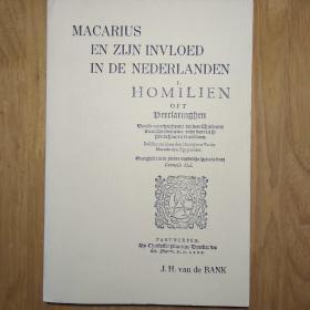 马卡里乌斯和他对荷兰的影响(Macarius en zijn invloed in De nederlanden)
