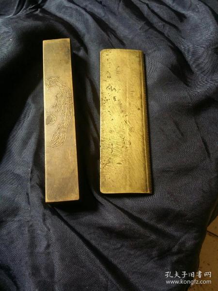铜镇纸二个