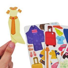 正版全新磁力变身贴纸游戏盒 旅行 3-5-6岁儿童益智全脑开发贴纸游戏书思维逻辑专注力训练书 儿童益智书籍智力潜能开发幼儿趣味贴纸