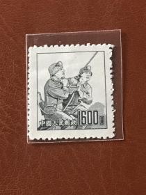 """普6《不同图案普通邮票》散邮票6-5""""煤矿工人"""""""