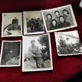 文革时期老照片6张合售