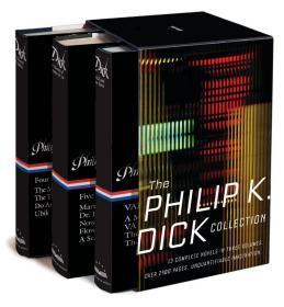 预售菲利普·K·迪克美国图书馆 科幻小说作品集 The Philip K. Dick Collection: A Library of America Boxed Set