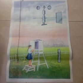 小气象站(小学科学常识教学图片)。