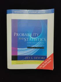 PROBABILITY AND STATISTICS FOR ENGINEERING AND THE SCIENCES 有笔记勾画