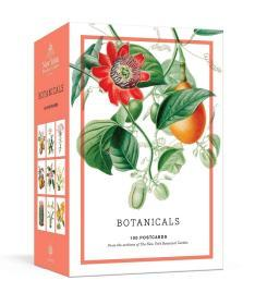 预售纽约植物园档案植物明信片Botanicals: 100 Postcards from the Archives of the New York Botanical Garden