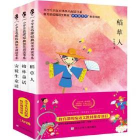 小学生名家经典快乐阅读书系 共3册(稻草人+格林童话+安徒生童话)