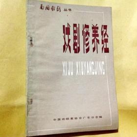 E100175 南国戏剧丛书 戏剧修养经