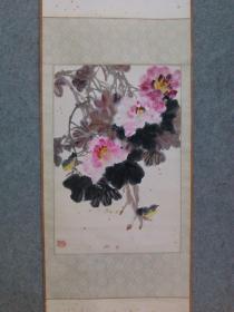 著名画家 中国杰出的花鸟画家 谭昌镕 国画花鸟 原稿真迹 永久保真