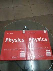 Physics:Volume 1、Volume 2(2册合售)英文版