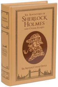 预售福尔摩斯探案集皮革刷金坎特伯雷经典The Adventures of Sherlock Holmes and Other Stories