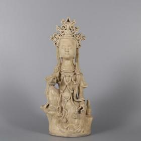越窑菩萨佛像