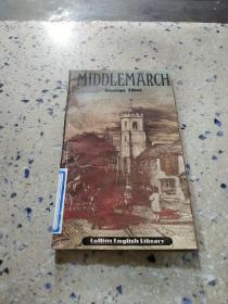 MIDDLEMARCH George Eliot:米德尔马契乔治·艾略特(外文)