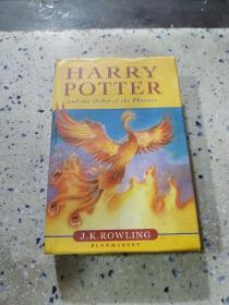 HARRY POTTER and the order of the phoenix:《哈利波特与凤凰社》外文
