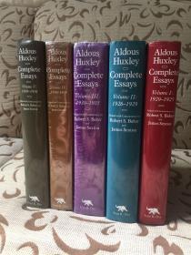 Complete Essays of Aldous Huxley 赫胥黎散文集 五卷本 volume 1-5 精装品好