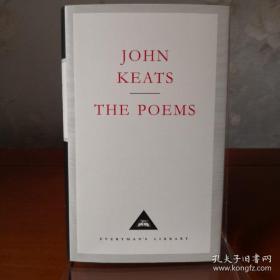 John Keats The Poems 约翰·济慈诗集 everyman's library 人人文库 英文原版 布面封皮琐线装订 丝带标记 内页无酸纸可以保存几百年不泛黄