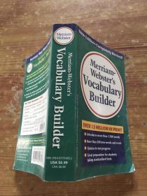 Merriam-Webster's Vocabulary Builder(货号d139)