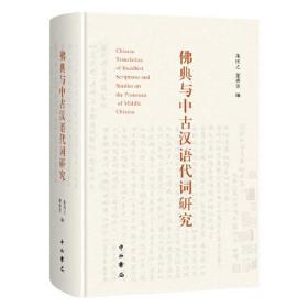 新书--佛典与中古汉语代词研究(精装)
