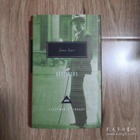 Dubliners 都柏林人 James Joyce 詹姆斯·乔伊斯 everyman's library 人人文库 英文原版 布面封皮琐线装订 丝带标记 内页无酸纸可以保存几百年不泛黄