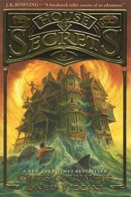 预售秘密屋儿童奇幻小说第一本精装House of Secrets