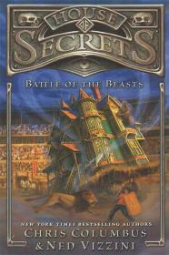 预售秘密屋野兽之战第二部儿童奇幻小说精装House of Secrets: Battle of the Beasts