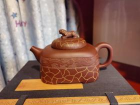 紫砂壶(高级工艺美术师倪新安作品)