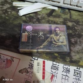 磁带 :那一天 杨坤  ( 塑硬盒装、 未开封有防伪标签、、、自然旧外壳) 196