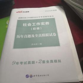 中公教育  2020升级版 社会工作实务(初级)历年真题及全真模拟试卷