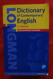 Longman Dictionary of Contemporary English 朗文英英词典字典 英文原版朗文当代高阶英语词典辞典 第6版