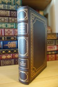 Eugene O'Neill - Four Plays (100 Greatest Masterpieces of American Literature)  诺贝尔文学奖得主 尤金·奥尼尔戏剧  1979年Franklin Library 限量收藏版  豪华全真皮封面 三面刷金