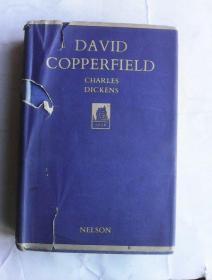 David Copperfield          英文旧版布面精装   大卫·科波菲尔 狄更斯小说
