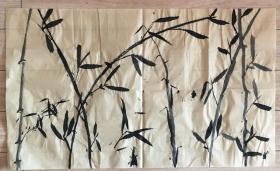 国画 毛边纸 / 水墨画 尺寸:71.8x43厘米 品相以图为准