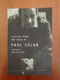Selected Poems and Prose of Paul Celan (in German and English translation,德英对照)(现货,实拍书影)